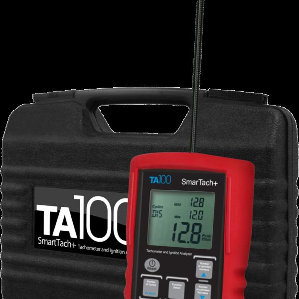 Безпроводной цифровой Тахометр и анализатор свечи зажигания двигателя ТА100
