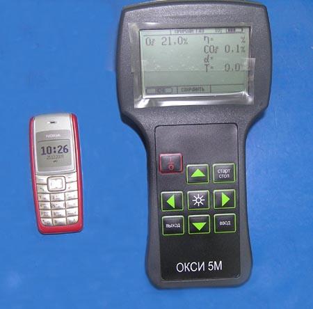 Переносной газоанализатор ОКСИ-5М